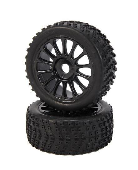 Carson Racing Reifen Set Specter 6S 1:8 (2)