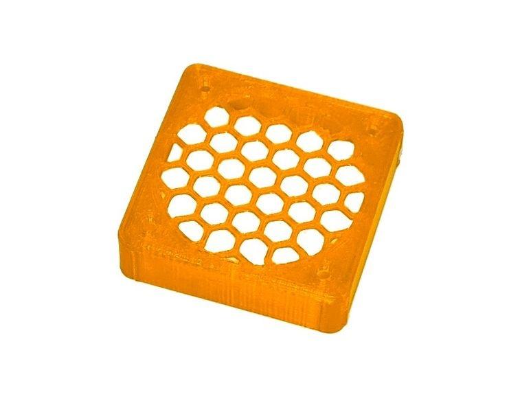JS-Parts ultraflex Lüftergitter 40x10 geschlossen orange