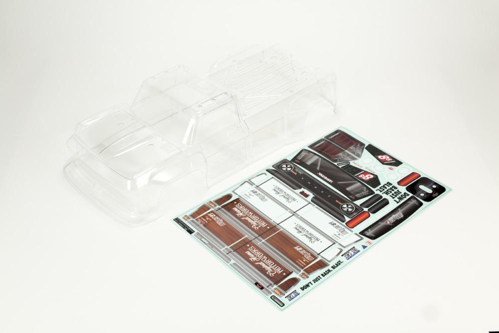 Arrma Outcast 8S Clear Bodyshell (Inc. Decals) (ARA409006)