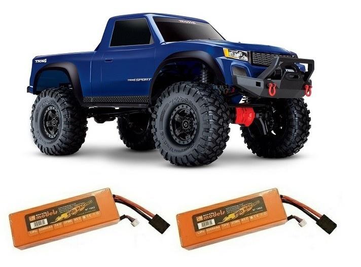Traxxas TRX-4 SPORT 4WDPickup-Crawler TQ2.4GHz RTR 1:10 blau