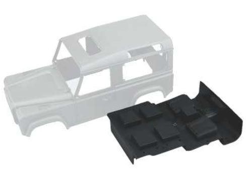 Amewi Defender Karosserie-Set Landrover Def. Body+Anbauteile