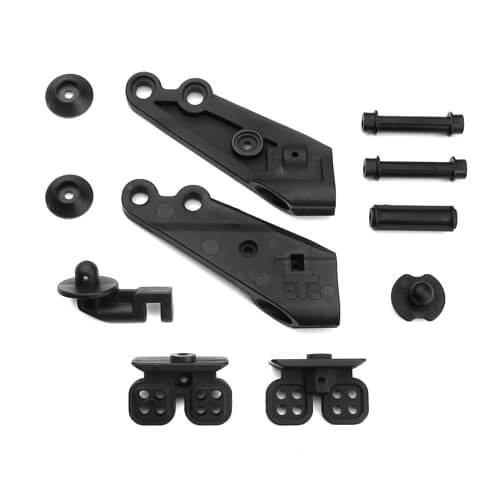 Tekno RC TKR5181 - Low Profile Wing Mount & Body Mounts
