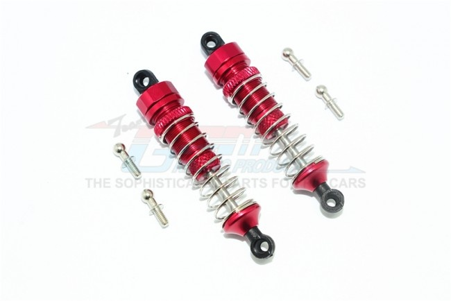 GPM aluminum front/rear damper (57mm) - 1PR  for Traxxas