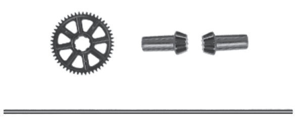 Absima Main Drive Shaft & Gear
