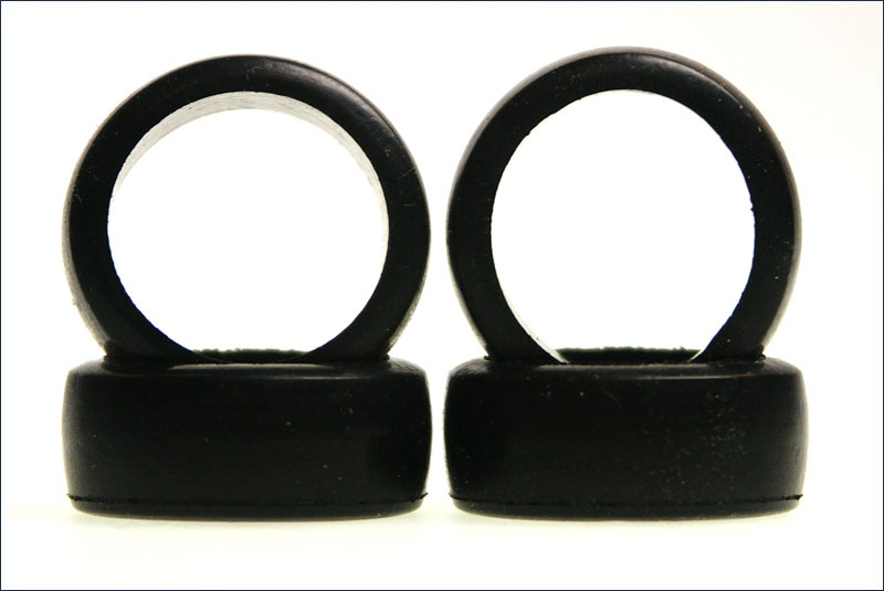 Kyosho Reifen-Set # 1:24 Slick 8,5mm weich, 4 Stück