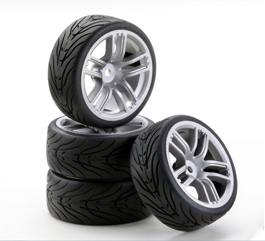 Carson SC-Räder GT Style silber, 4 Stück