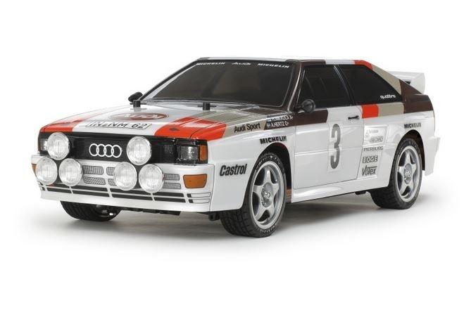 Tamiya RC Audi Quattro Rally A2 (TT-02) Bausatz 1:10