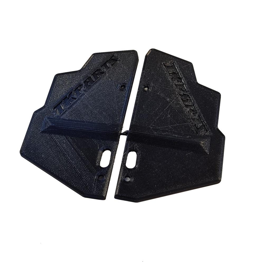JS-Parts Mudguards ultraflex Corally Kronos schwarz