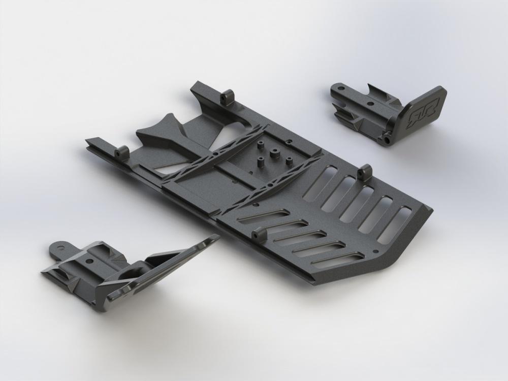 Arrma RC Skid Plate Set Front/Rear/Centre