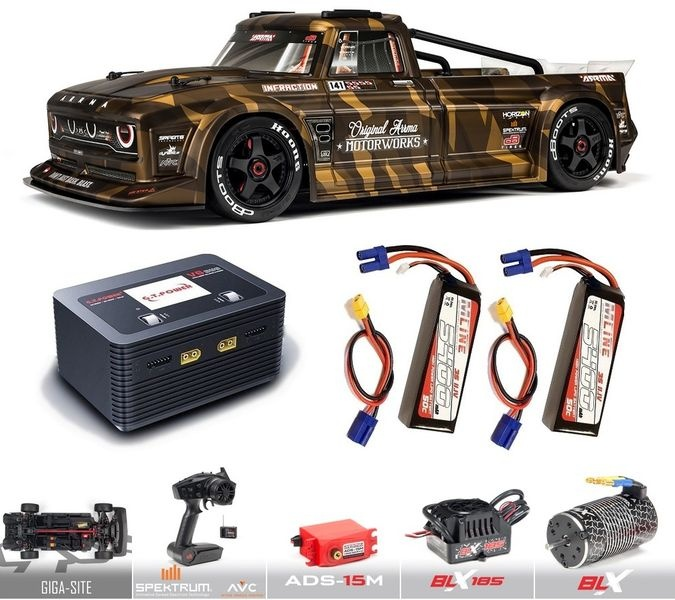 Arrma 1/7 INFRACTION All-Road Street Bash 6S BLX RTR with