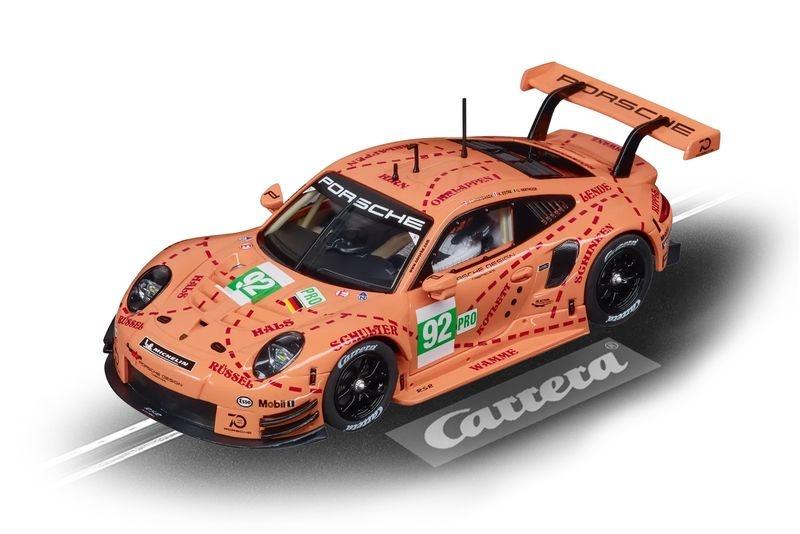 Carrera Evolution Porsche 911 RSR Pink Pig Design, No.92