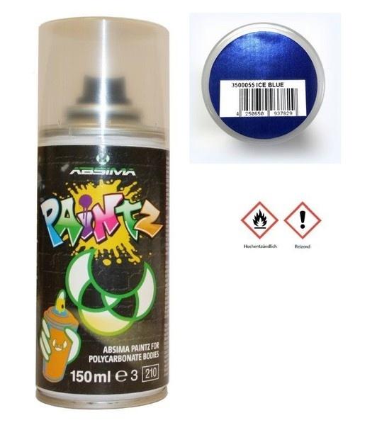 Absima Paintz Polycarbonat (Lexan) Spray CANDY ICE DARK BLUE