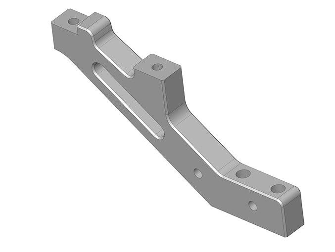 Team Corally - Chassis Brace - XTR - Front - Aluminum -