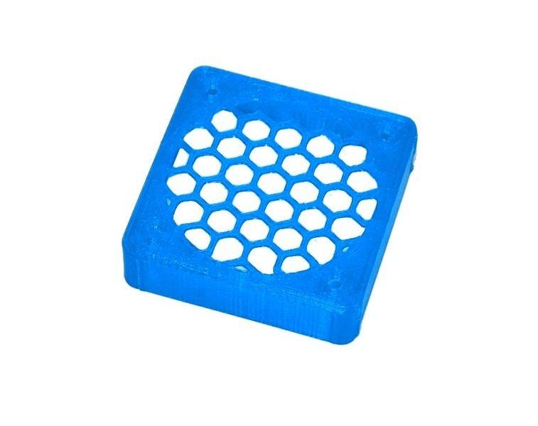 JS-Parts ultraflex Lüftergitter 40x10 geschlossen blau