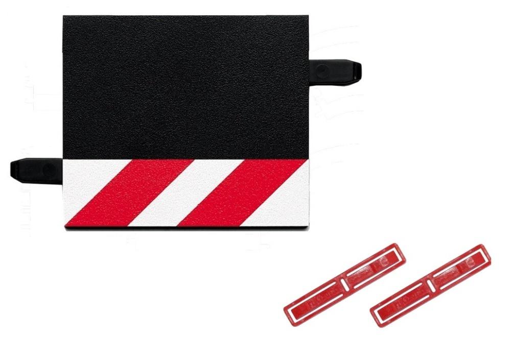 Carrera 1 Stück Randstreifen 1/3 Gerade - LOSE -