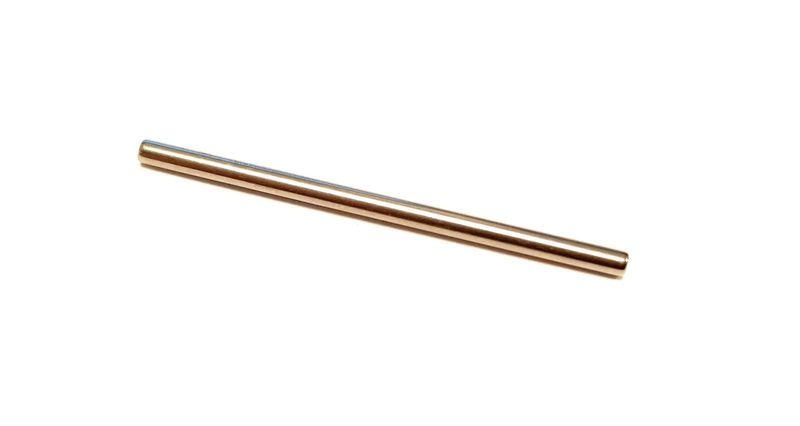 AutoArt Achse 2,38mm (3/32) x 46mm (Stahl gehärtet)