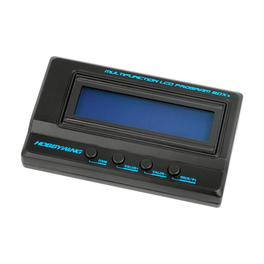 Hobbywing LCD Programmierbox G2 für Xerun, Ezrun