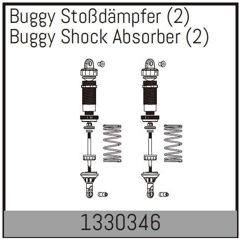 Absima Buggy Stoßdämpfer (2)
