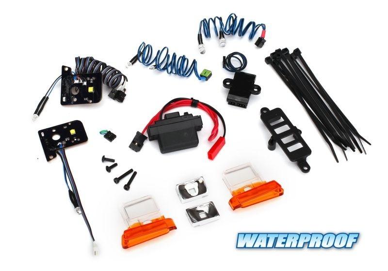 Traxxas Lichter-Set Ford Bronco TRX-4 mit Power-Supply
