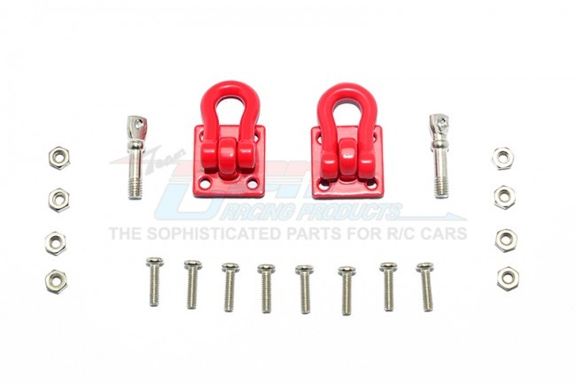 GPM Scale accessories: Aluminum tow recovery point set -