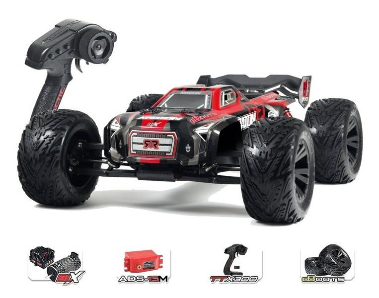 Arrma Kraton 6s BLX 4WD E-Monstertruck 2.4GHz rot RTR 1:8