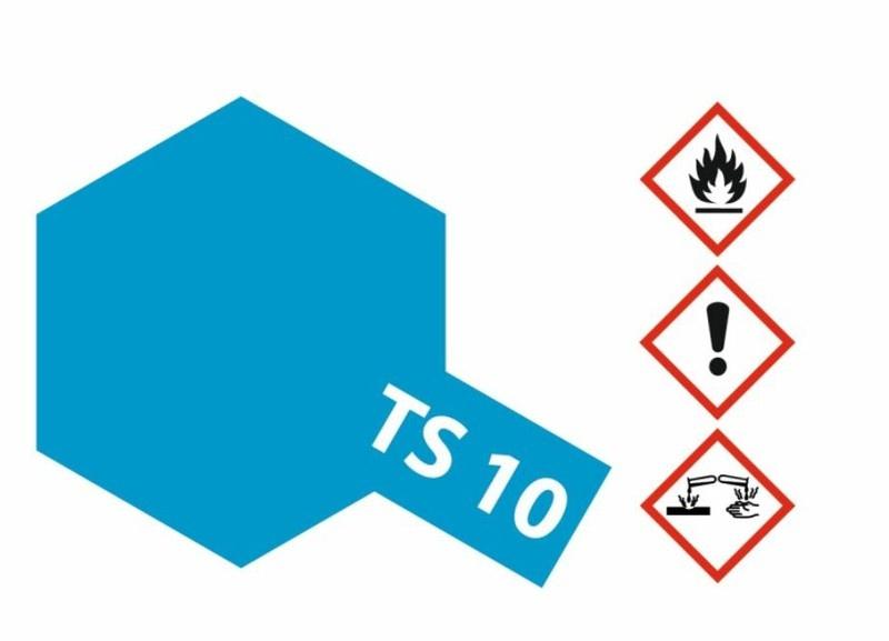 Tamiya Acryl-Sprühfarbe TS-10 FranzösischBlau glänzend 100ml