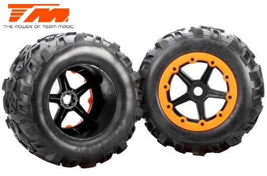 Auslauf - Team Magic Reifen - Monster Truck - montiert -