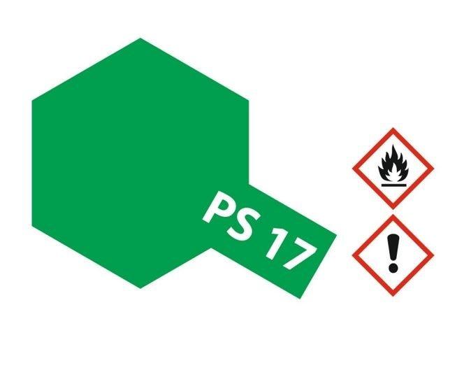 Tamiya Lexanlack PS 17 metallic-grün