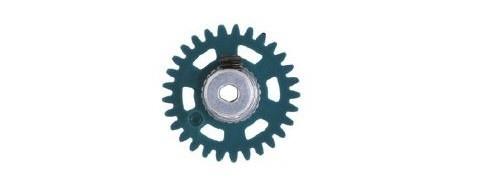 NSR AW 3/32 Soft Plastic Gear/Zahnrad 29T w/alu hub pale