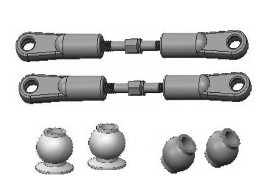Amewi Turnbuckle 52mm Rear AM10T