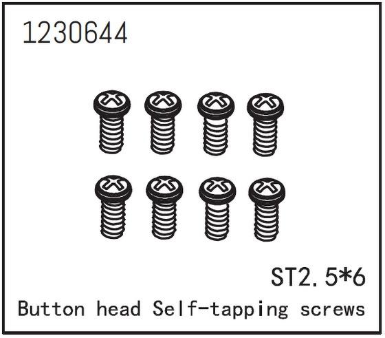 Absima Kopfschraube selbstsichernd M2.5*6 (8)