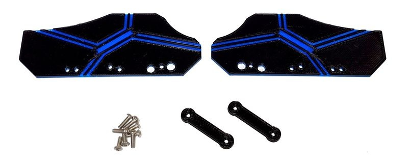 JS-Parts Mudguards ultraflex Frostbite blau für