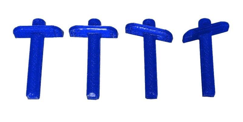 JS-Parts ultraflex Karosseriehalter v/h blau