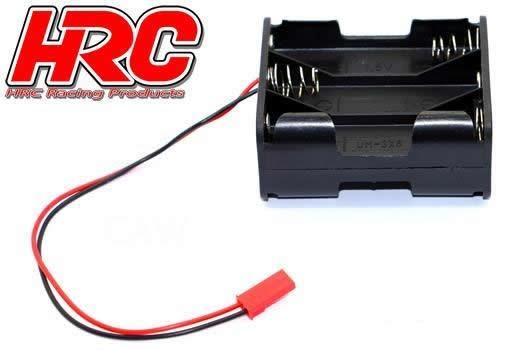 HRC Batteriehalterung - AA - 6 Zellen - Square -