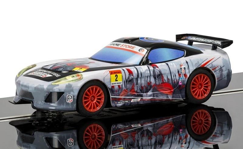 Scalextric GT Lightning - Spartan Team GT SRR