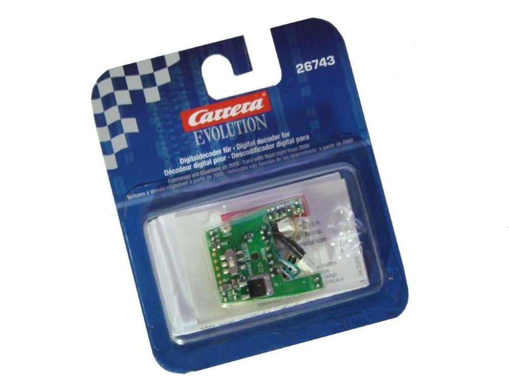 Carrera Digitaldecoder Evolution-> D132 26743 ->mit