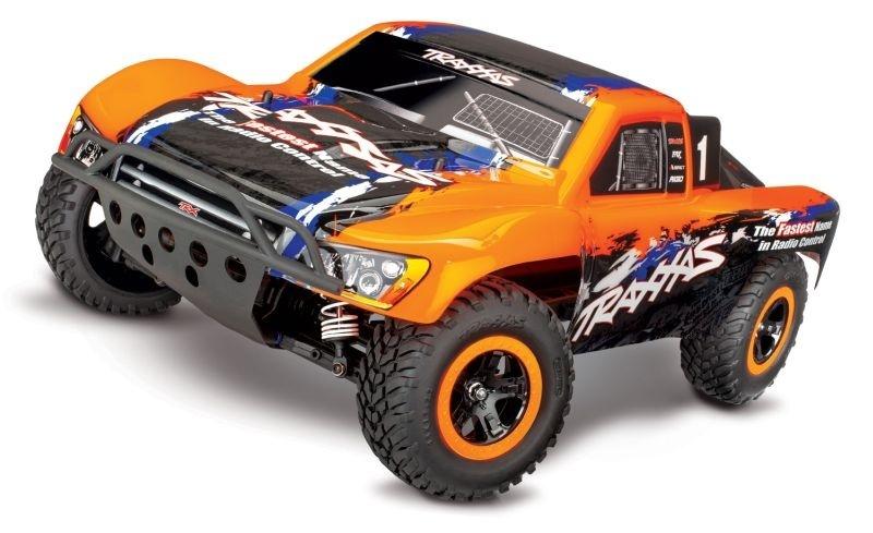 Traxxas SLASH 4x4 VXL orange 4WD Short-Course Race Truck
