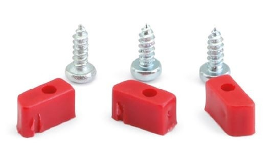 NSR Plastic Cups and Screws Kit TRIANGULAR