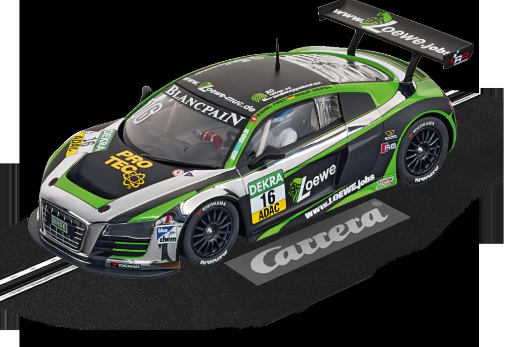 Carrera Digital 124 Audi R8 LMS Yaco Racing,No.16