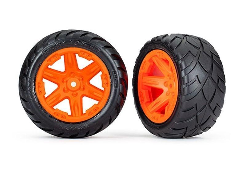 Traxxas Reifen auf Felge 2.8 RXT orange / Anaconda