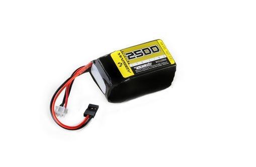 Absima RX LiPo Hump 7.4V 2500mAh SC Uni-Plug