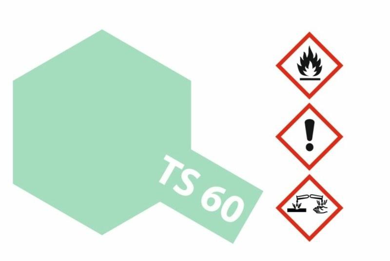 Tamiya Acryl-Sprühfarbe TS-60 Grün Perleffekt glänzend 100ml