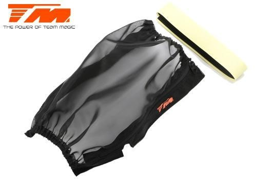 Team Magic Option Part - E5 - Protection Net for chassis