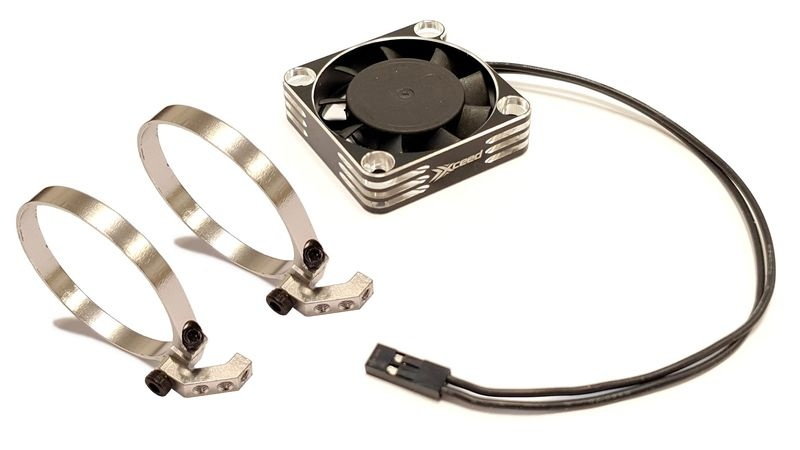 MLine Lüfterhalter Doppel-Set für 1:8er-Motoren --SPARSET--