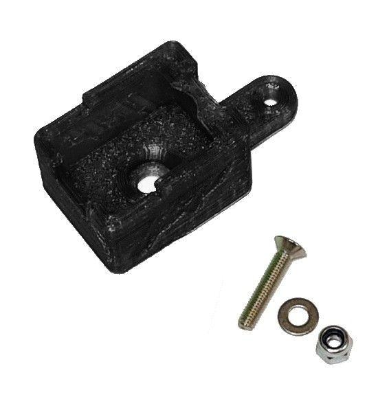 JS-Parts ultraflex Schalterhalter schwarz für Hobbywing MAX