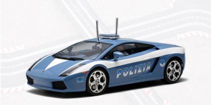 AutoArt Lamborghini Gallardo Police Car