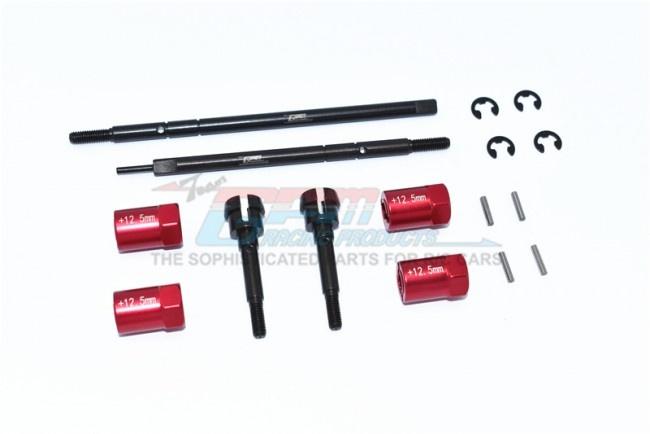 GPM Harden Steel #45 Front CVD Joint+Rear Drive Shaft+Alu