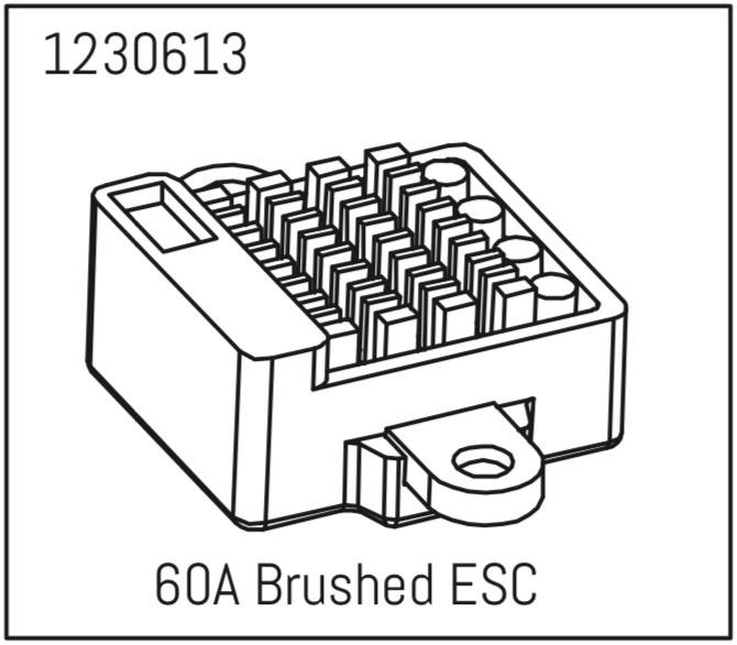 Absima 60A Crawler brushed Fahrtenregler