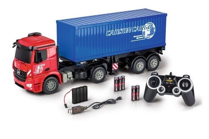 Carson MB Arocs m.Container 2.4G 100% RTR 1:20