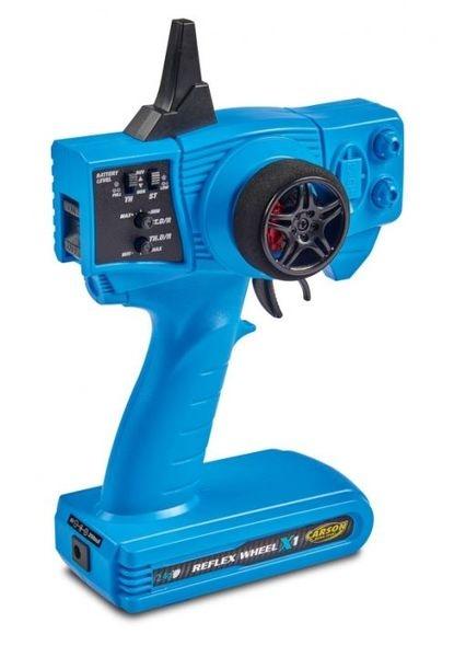 Carson FS Reflex X1 2-Kanal 2.4G Blue Version